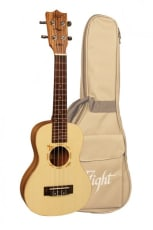 Flight Concert Ukulele Solid Spruce m/bag