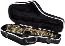 RockCase ABS Case Alto Saxophone with outside Pocket