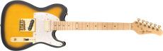 Jay Turser Gitarr Single Cutaway Custom Antique Sunburst