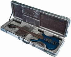 RockCase ABS Premium Electric Bass rectangular silver