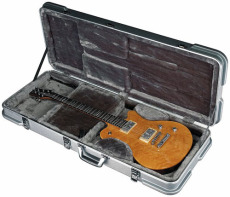 RockCase ABS Premium Electric Guitar rectangular silver