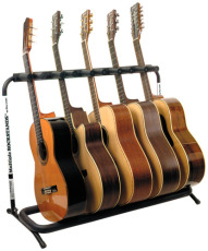 RockStand Multiple Guitar Rack Stand for 5 Classical or Acoustic Guitars / Basses