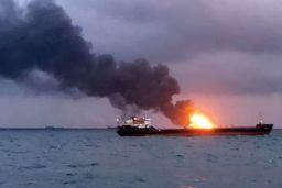 Kerch Strait fire