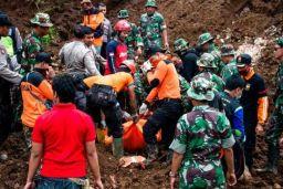 Illegal mine in Indonesia