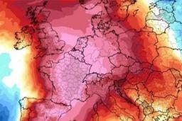 scorching temperatures