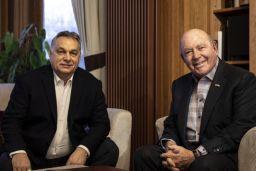 Viktor Orbán and David Cornstein