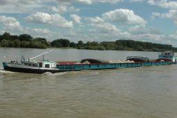 Germany river cargo ship