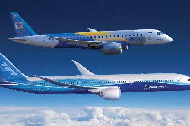 Embraer and Boeing