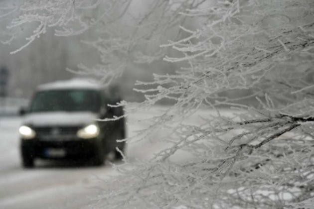 Serbia snow