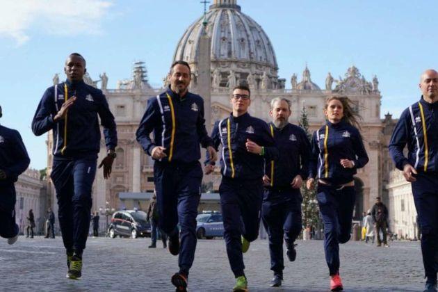Vatican athletics team