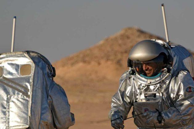 Astronauts on Mars