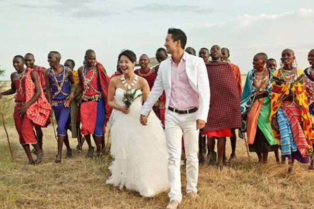 Kenya wedding