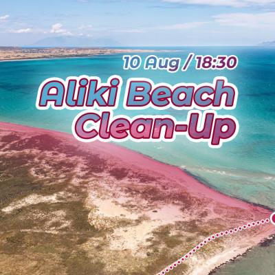 Aliki Beach Clean-Up