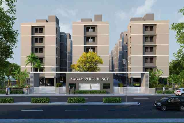 FlatGradings - Aagam 99 Residency