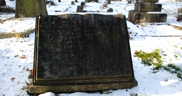 Waller Jeffs' grave