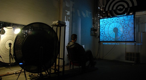 The Pedal-Powered Phenakistoscope