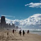 """City-beach-scape"" stock image"