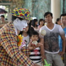 """Thai Clown"" stock image"