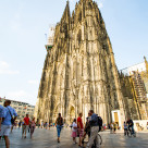 """Cathedral of Cologne"" stock image"
