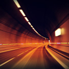 """Tunnel dash"" stock image"