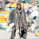 """Coat Man"" stock image"