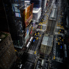 """High above NYC"" stock image"