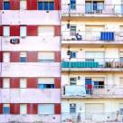 """Apartment Building Facade"" stock image"