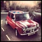 """Mini Cooper in London"" stock image"