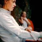 """Fencer Pia Klafstad"" stock image"