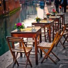 """By the Canal"" stock image"