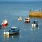 """Abersoch harbour"" stock image"