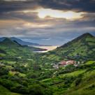"""""""Bilboa Mountain View"""" stock image"""