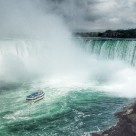 """Niagara Falls close"" stock image"