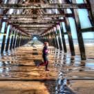 """Steetly Pier"" stock image"