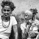 """Havana Sunbathers"" stock image"