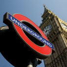 """""""Underground At Westminster"""" stock image"""
