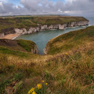 """Flamborough cliffs II"" stock image"