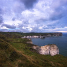 """Flamborough Lighthouse"" stock image"