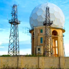 """Radar Station in Dingli"" stock image"