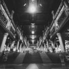 """Burmese Temple Hall"" stock image"