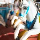 """British seaside fairground ride."" stock image"