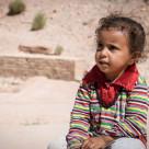 """""""Petra girl"""" stock image"""