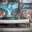 """""""Jesus Wept"""" stock image"""