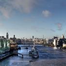 """""""London Panoramic Skyline"""" stock image"""