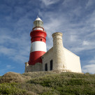 """Cape Agulhas Lighthouse"" stock image"