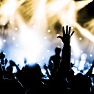 """""""live concert"""" stock image"""