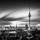 """""""Skyline Berlin I"""" stock image"""
