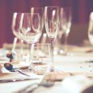 """Restaurant table"" stock image"