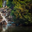 """""""Waterfall III"""" stock image"""
