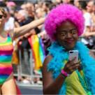 """""""Pride in London 2015"""" stock image"""
